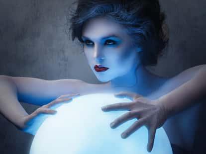 Mond im Zeichen Steinbock | Foto: (c) blackday - stock.adobe.com